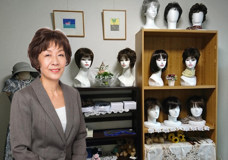【起業事例】乳がん経験をもとに59歳で起業。医療向けウィッグのサロンを開設